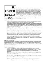 presentazione del tema del cyberbullismo
