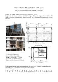 Esercitazione Tecnica delle costruzioni
