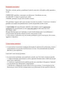 Tecniche di osservazione del comportamento infantile (appunti)