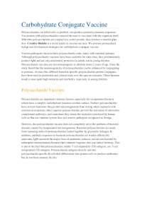 Carbohydrate Conjugate Vaccine.pdf