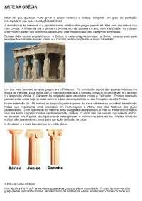 Manifestações artisitcas gregas