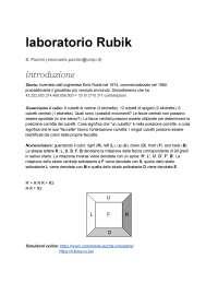 Come imparare a risolvere il cubo di Rubik