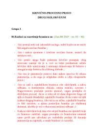 Krivicno procesno pravo