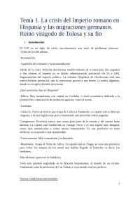 tema 2 Historia de la España medieval
