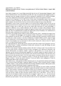 """""""Lettera a una professoressa"""" di Don Milani"""
