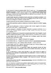 Raccolta di quiz/test di Procedura Civile Pegaso