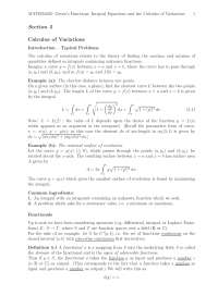 calculus of variation thesis