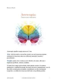 Arteterapia: l'intervento educativo
