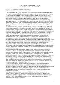 Storia contemporanea -Bracco