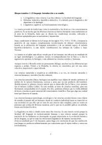 Apuntes de lingüística española