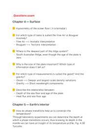 Geodynamics study notes