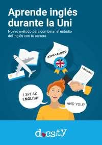 Aprende inglés durante la Universidad - eBook Docsity