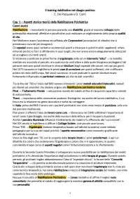 Il training riabilitativo nel disagio psichico - C. De Pasquale, D. Conti