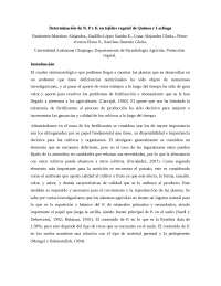 DETERMINACIÓN DE N,P Y K EN TEJIDO VEGETAL DE QUINOA Y LECHUGA