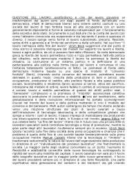 POLITICHE sociali, argomenti fondamentali per l'esame scritto
