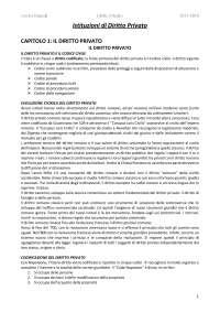 """Riassunto Libro """"Diritto Privato, V. Franceschelli"""""""