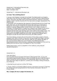 assignmenti international business law