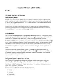 Letteratura.it - Eugenio Montale