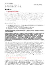 Riassunto completo LA FESTA, N. Spineto