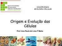 Biologia Celular formação academica