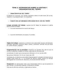 TEMA 2. Intervencion y Tratamiento en Psicologia Social, Laboral y Educativa