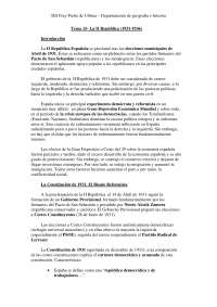 5.3.- La dictadura de Primo de Rivera (1923-1930)