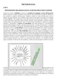 Metodologia e tecnologia