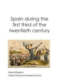 España durante el siglo XX