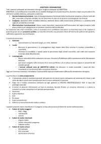 Anestesia e Rianimazione per Infermieristica