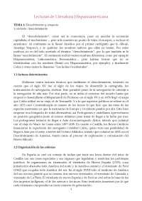 Apuntes completos literatura hispanoamericana