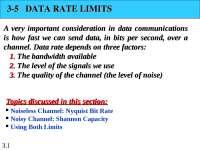 data communication and computer net