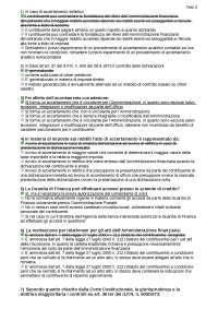 test diritto tributario