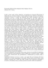 """Recensione critica del libro """"Il lavoro di Enzo Mingione e Enrico Pugliese"""""""