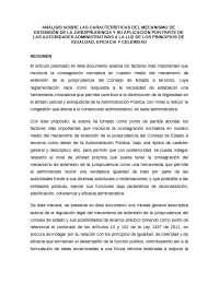 mecanismo de extensión de jurisprudencia