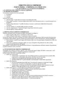 DIRITTO DELLE IMPRESE, PARTE 1 DIRITTO COMMERCIALE
