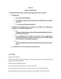 Tema 23: Autoría y participación.