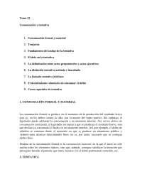 Tema 22: Consumación y tentativa.
