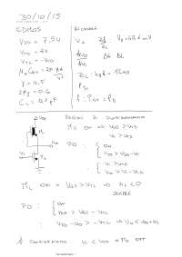 Esercizio MOSFET- logica EDMOS