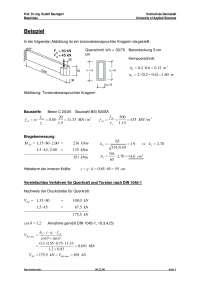 Ispitni zadatak iz elemenata opterecenih torzijom
