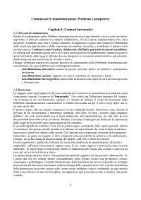 Riassunto/sintesi Comunicare le Amministrazioni. Problemi e Prospettive - Letizia Materassi