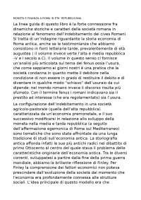 MONETA E FINANZA A ROMA