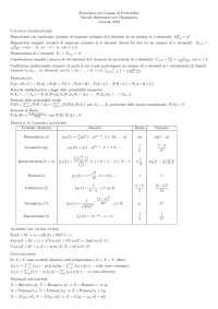 formulario di probabilità, metodi