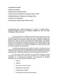 artigo Gonçalves, R. C., Lisboa, T. K. (2007). Sobre o método da história oral em sua modalidade trajetórias de vida. Rev. Katál. Florianópolis, 10(n. esp.), 83-92.