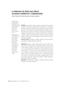 COMPLEXO EDIPO E WINNICOTT