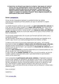DEBAT AULA FORUM PAC 1 EDUCACIO INTERCULTURAL