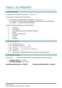 Matematicas en la educacion infantil