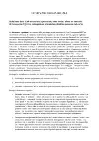 Etivity psicologia sociale