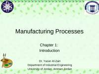 Manufacturing Process Property enhancing