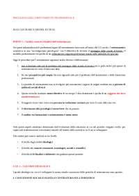 Riassunto Psicologia dell'orientamento professionale - Guichard, Huteau (Cap. 1-2-3-4)