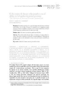 Decomiso de bienes en la legislación peruana